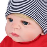 Bebe Reborn Menino Todo Em Silicone 57 Cm - Muito Realista