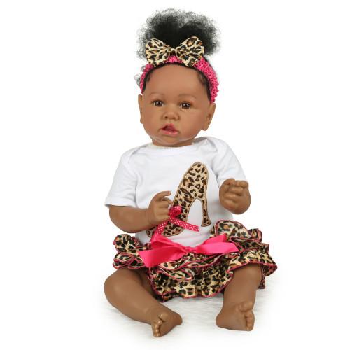 NPK Bonecas Reborn Bebe De Silcione 55CM Bonecas realistas bebê infantil