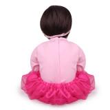 Bebe Reborn Bonecas reborn,bonecas adoráveis para meninas,60cm de alta qualidade,criança renascida