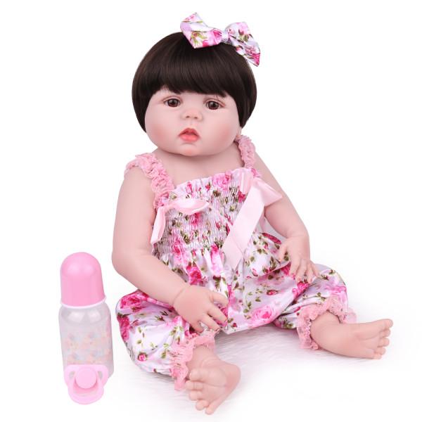 55cm menina brinquedos silicone macio bonecas renascer surpresas presentes bebê realista boneca reborn vinil boneca reborn boneca para meninas