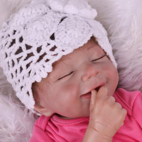 Boneca Reborn Realistica Bebê Reborn De Silicone boneca realista