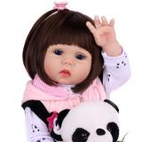 18  novo silicone vinil lifelike criança bebê NPK bonecas menina miúdo boneca bebes reborn menina de silicone brinquedos para crianças