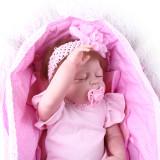 55cm de corpo inteiro silicone reborn boneca do bebê brinquedo para a menina bebês recém-nascidos boneca criança banhar brinquedo presente aniversário da criança