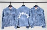 Supreme 20SS Hole Punch Denim jacket