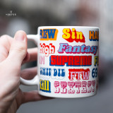 Supreme17FW HYSTERIC GLAMOUR Ceramic Mug
