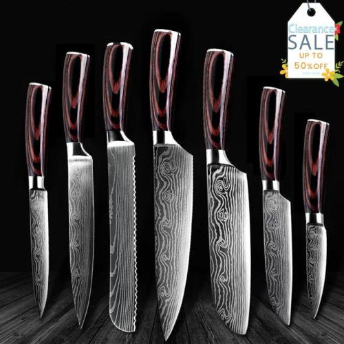 Japanese Chef Knife Set(Fast delivery + Ships From US + Worldwide  Shipping )