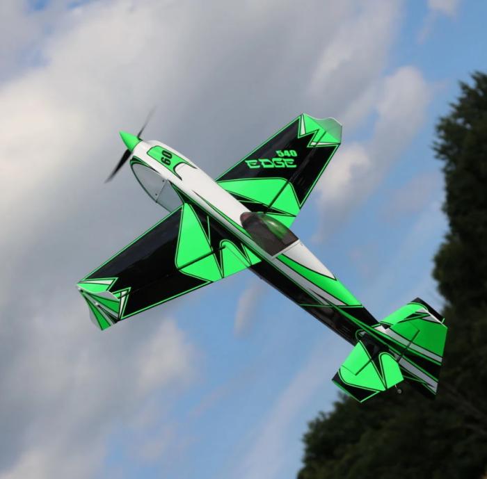 "OMPHOBBY 60"" 70E Edge 540 Kevlar Reinforced Balsa 3D Airplane ARF"