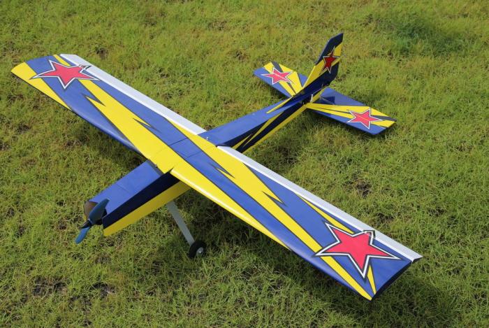 "OMPHOBBY Challenger 49"" Balsa Airplane"
