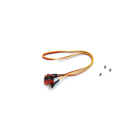OMPHOBBY M2 Replacement Parts Tail Motor Set-Orange For M2 2019/V2 OSHM2037