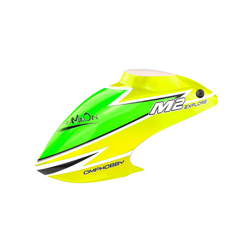OMPHOBBY M2 Replacement Parts Canopy Set-Yellow For M2 Explore OSHM2102