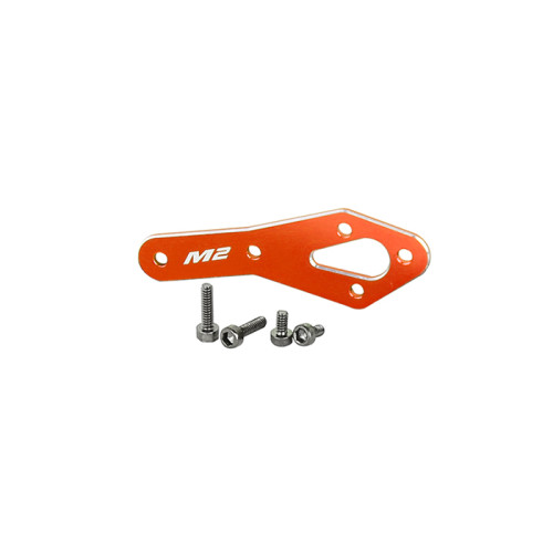 OMPHOBBY M2 Replacement Parts Tail Motor Enhance Reinforcement Plate Set-Orange For M2 V2 OSHM2123