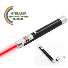 黒色 高出力 650nm 100mw usb充電式 赤色レーザー指示棒