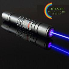 高級感溢れる青色レーザーポインター強力450nm波長レーザーペン