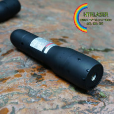 50mW 505nm カラス対策 防水 緑色レーザーポインター水中潜水深度5メートルまで