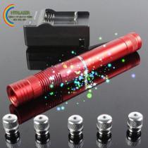 綺麗中国赤レーザー懐中電灯 450nm 10000mw レーザーポインター青色 おしゃれレーザー指示棒