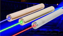 全銅短版超高出力レーザー懐中電灯