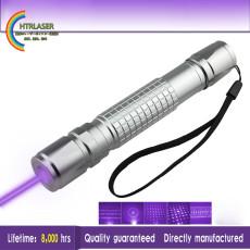 満天星 500mw 紫色 レーザーポインター多機能指示棒