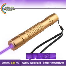 500mw紫色 パープル レーザー405nm ポータブルハイパワーレーザーポインター