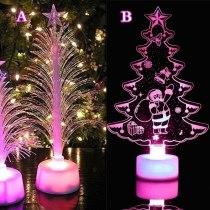 LED Color Changing Mini Christmas Xmas Tree