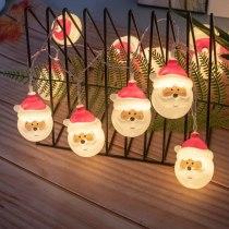 2M/3M Led Snowman Fairy String Lights Santa Christmas Light