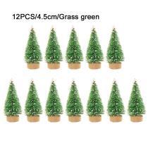 12-Piece Mini Christmas Tree
