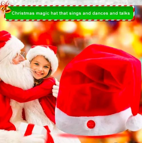 Christmas Hat That Will Dance(2PCS)