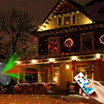 Outdoor Waterproof Laser Projector Christmas LED Stage Light