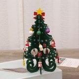 Children's Handmade DIY Stereo Wooden Christmas Tree