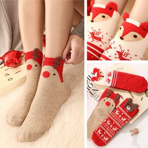 Cotton Christmas Socks Christmas Decorations