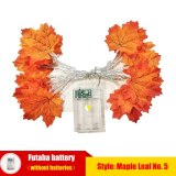 Artificial Plant Maple Leaf LED Light String