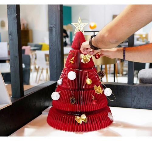 Origami Christmas Tree New Year Decoration
