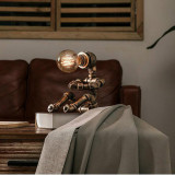 RETRO WATER PIPE ROBOT LAMP