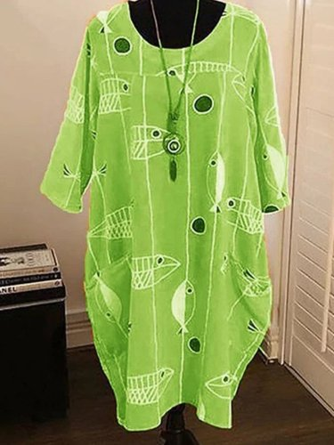 Short Sleeve V Neck Dresses