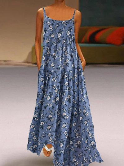 Cold Shoulder Cotton-Blend Holiday Dresses