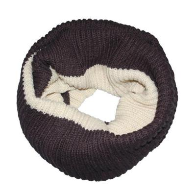 Winter Women Knitting Infinity Scarves Knitted Warm Neck Circle Scarf