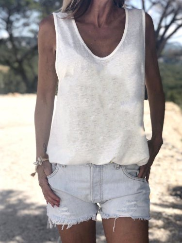 Women Casual Tops Tunic Tanks Vest