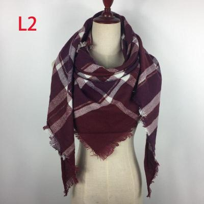 Triangle Scarf 2017 Fashion Wholesale Spring Brand Women acrylic Cashmere Designer Winter Shawl Blanket Foulard
