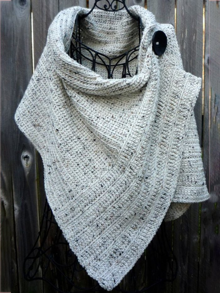 Knitted Casual Scarves & Shawls