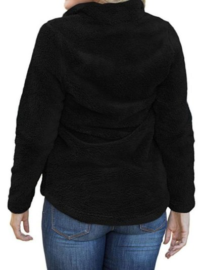Polyester Solid Sweater