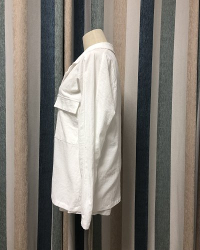 Cotton And Linen Double-Breasted Temperament Suit Shorts Suit
