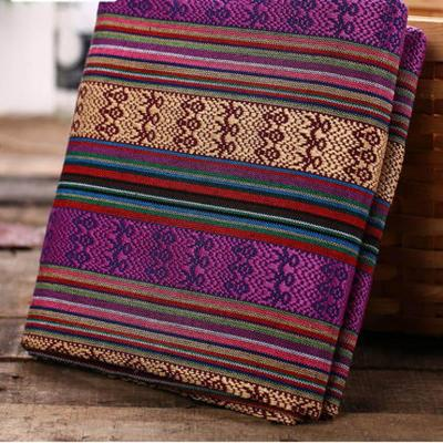 sofa cover ethnic fabric DIY bag curtain cotton linen fabrics textile for patchwork materials cloth fabric tissu