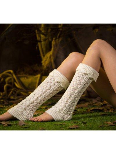 Casual Warm Plain Knee-Socks
