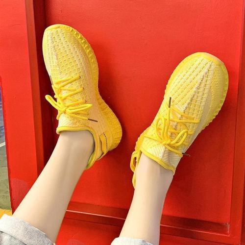Women Breathable Solid Color Shoes