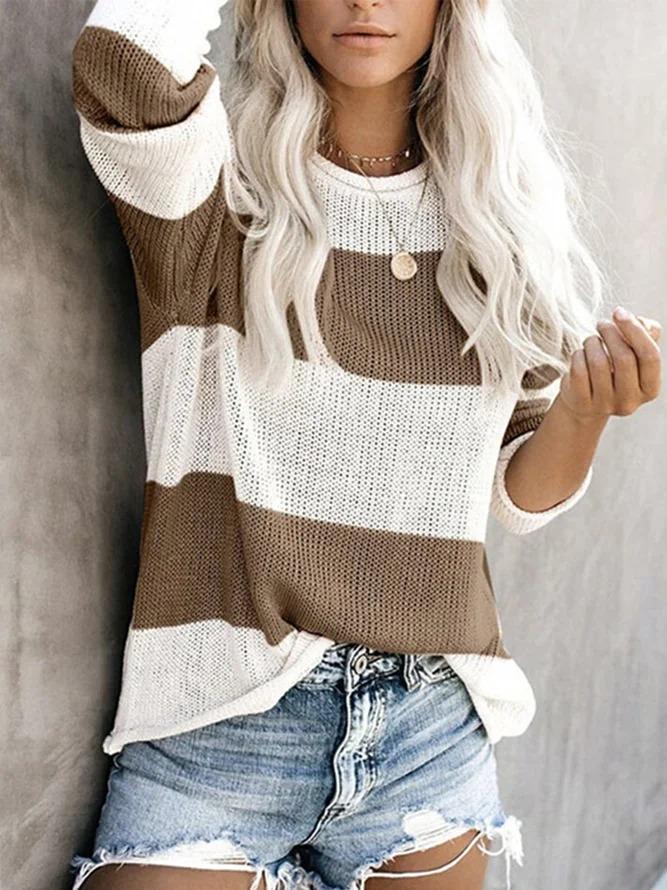 Long Sleeve Casual Sweater