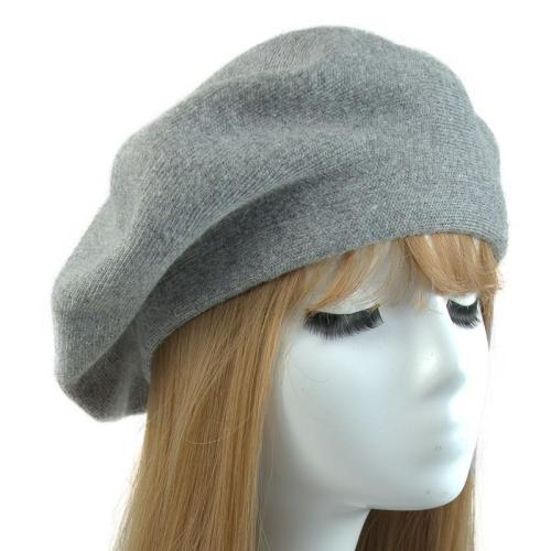 Women Beret Vogue Hat Winter Female Knitted Cotton Wool Hats Spring Brand Girls Wool Solid Color Beret