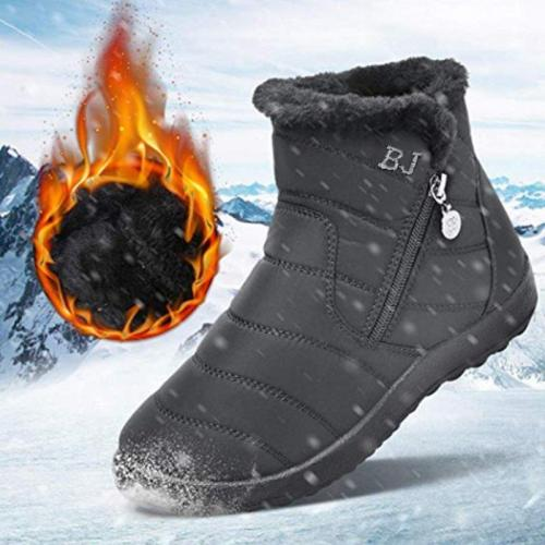 Women Outdoor Anti-Slip Walking Snow Boots