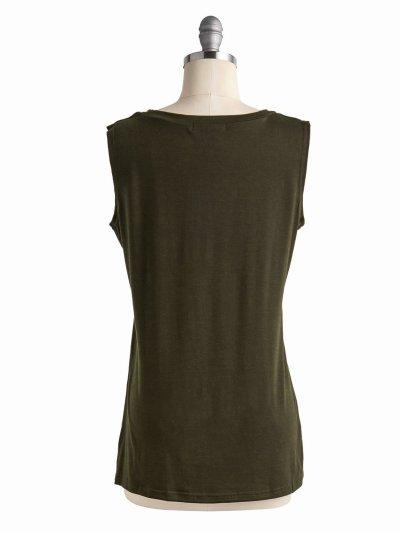 Casual Tops Tunic Tanks Vest