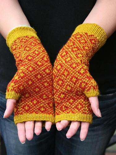 Casual Tribal Cotton Gloves & Mittens