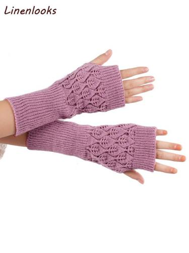 Hand Arm Knit Gloves Mittens