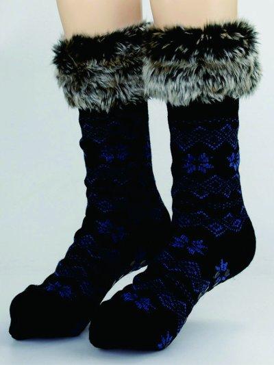 Christmas Acrylic Floral Casual Underwear & Socks